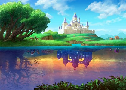 Hyrule and Lorule castles