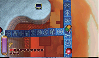A Link Between Worlds Walkthrough Ice Ruins Zeldas Palace