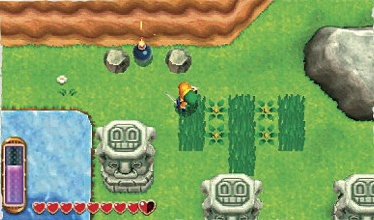 A Link Between Worlds tips and tricks - Lots of rupees