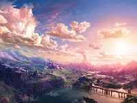 landscape Breath of the Wild