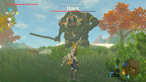 a Hinox from Breath of the Wild