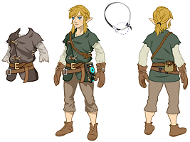 Link in Breath of the Wild
