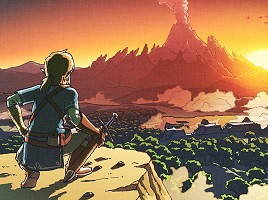 Scene from Breath of the Wild