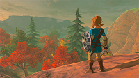 Breath of the Wild in autumn