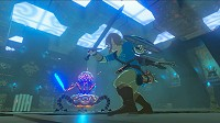 Link fighting in Breath of the Wild