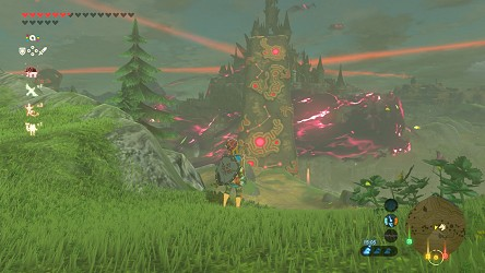 Breath Of The Wild Walkthrough On The Way To Hyrule Castle Zelda S Palace