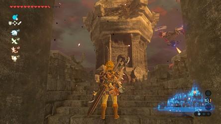 Breath of the Wild walkthrough - Hyrule Castle - Zelda's Palace