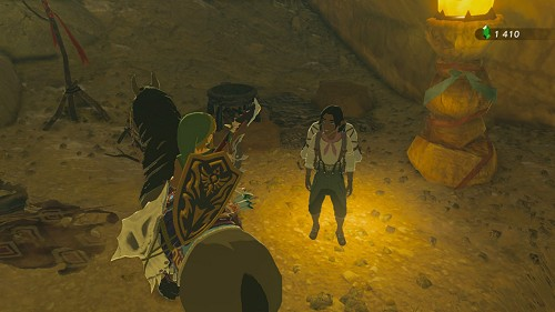 side quest Good-Sized Horse in Breath of the Wild