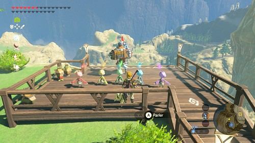 Kass gets his family back in Breath of the Wild