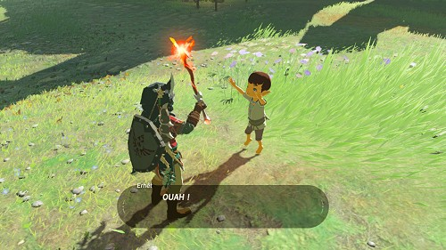 side quest The Weapon Connoisseur in Breath of the Wild