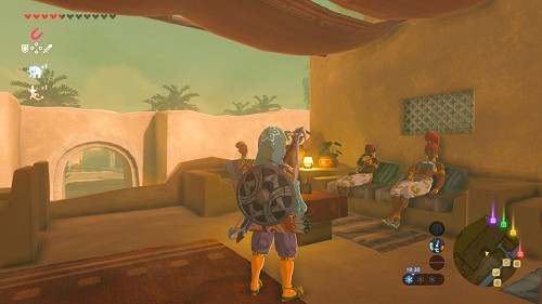 side quest The Secret Club's Secret in Breath of the Wild
