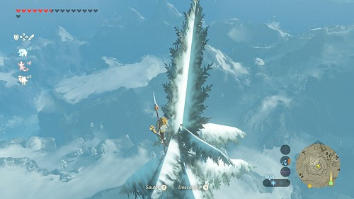 shrine quest The Bird in the Mountains in Breath of the Wild