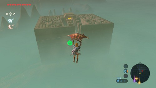 shrine quest Trial of the Labyrinth in Breath of the Wild