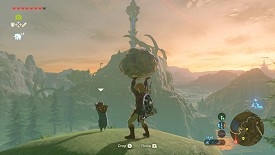 A Korok in Breath of the Wild