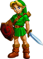 Young Link Ocarina of Time