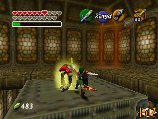 Ocarina Of Time Walkthrough Ganon S Tower Zelda S Palace