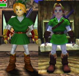 Ocarina of Time tips and tricks - Novelties of the 3D