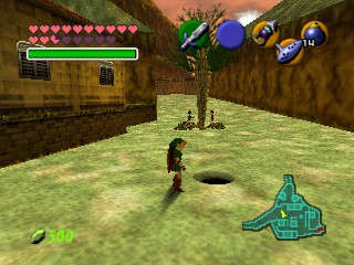 Ocarina Of Time Tips And Tricks Hidden Holes Zelda S Palace