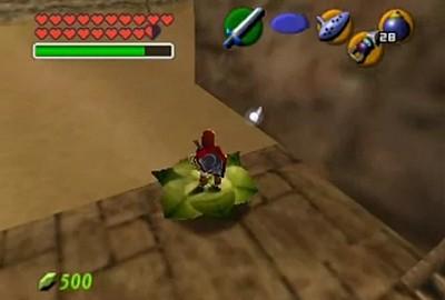 Ocarina of Time tips and tricks - Magic Beans - Zelda's Palace