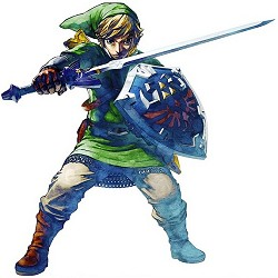 Link fighting in Skyward Sword