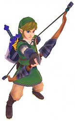 Link and his bow
