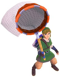 Link and his net