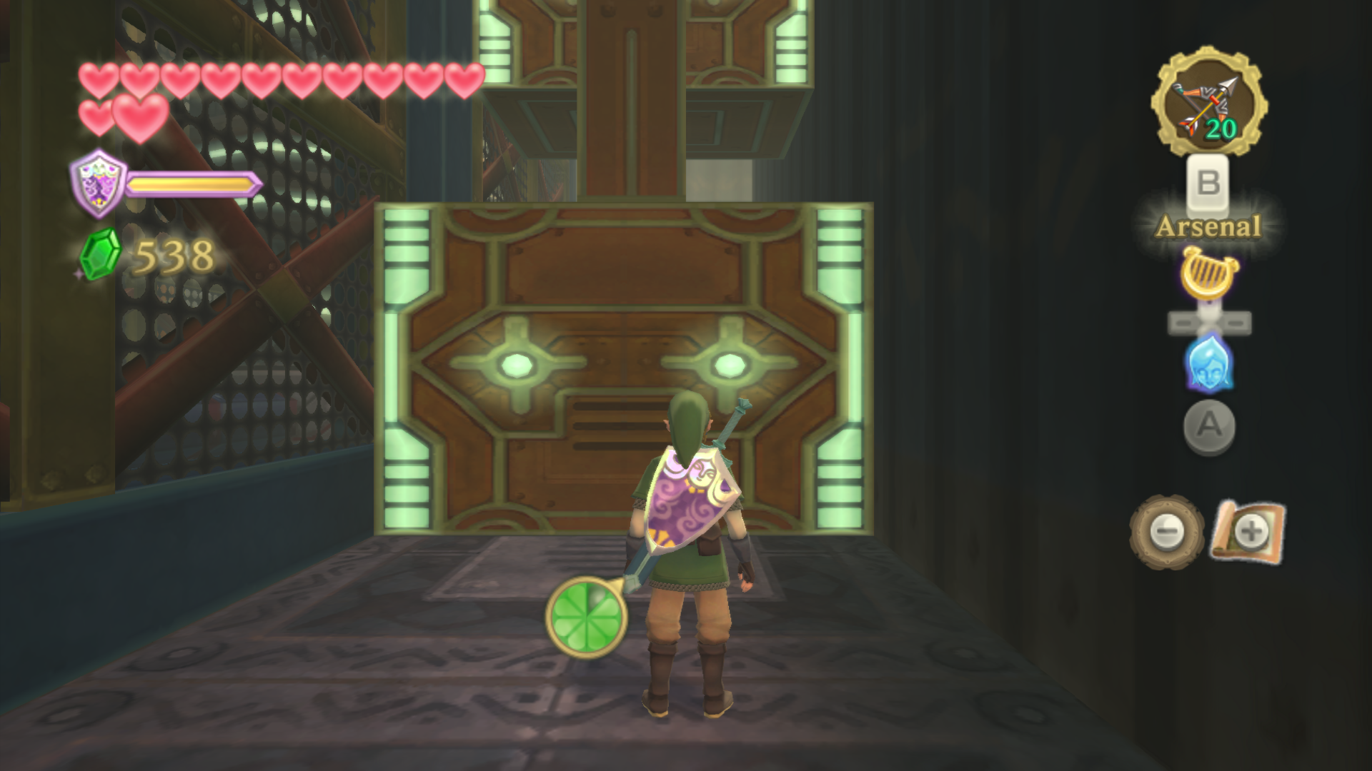 How To Get Into Zelda S Room Skyward
