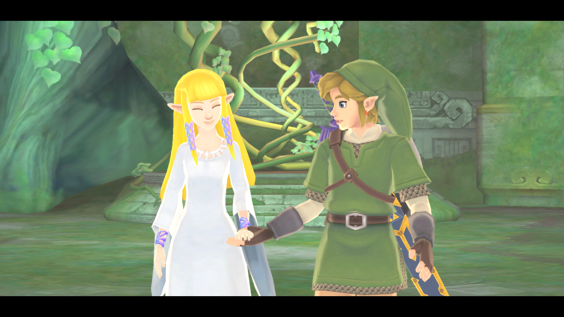 Skyward Sword walkthrough - Hylia Domain and Final battle