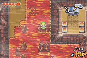 Cave of Flames The Minish Cap