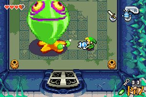 Giant Green Chuchu The Minish Cap
