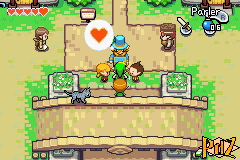 first Kinstone exchange in The Minish Cap