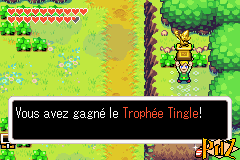 Tingle Trophy in The Minish Cap