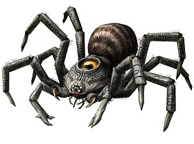 Twilit Arachnid: Armogohma Twilight Princess