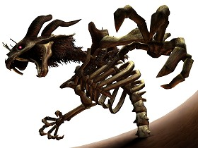 Twilit Fossil: Stallord Twilight Princess