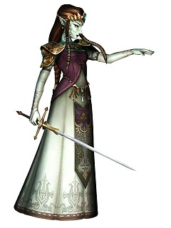 Possessed Zelda Twilight Princess