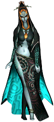 Midna in her human form Twilight Princess
