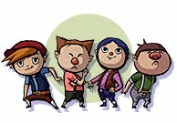 Windfall's Gang of Boys The Wind Waker