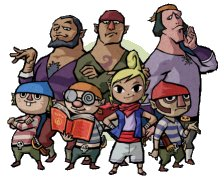 Pirates (and Tetra) The Wind Waker