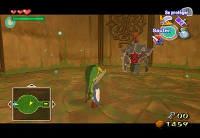 The Wind Waker walkthrough - Wind Temple - Zelda's Palace