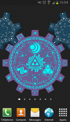 Ringtones, lockscreens and themes for mobiles - Zelda's Palace